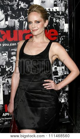 Marley Shelton attends the