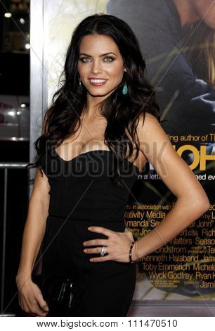 Jenna Dewan at the Los Angeles premiere of 'Dear John' held at the Grauman's Chinese Theatre in Hollywood on Februaty 1, 2010.