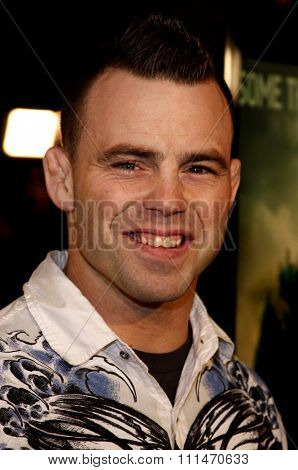 Jens Pulver attends the Los Angeles Premiere of