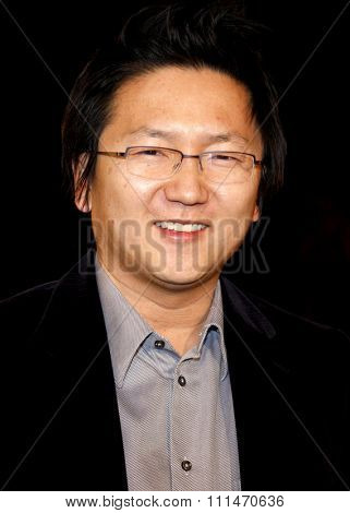 Masi Oka attends the Los Angeles Premiere of