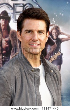 June 8, 2012. Tom Cruise at the Los Angeles premiere of