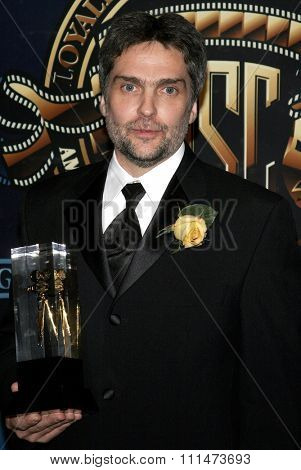 David Moxness at the American Society of Cinematographers 21st Annual Outstanding Achievement Awards held at the Hyatt Regency Century Plaza Hotel in Century City on February 18, 2007.