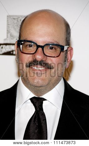 David Cross at the American Cinematheque 26th Annual Award Presentation held at the Beverly Hilton Hotel in Beverly Hills on November 15, 2012.