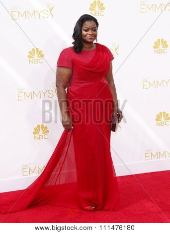 Octavia Spencer at the 66th Annual Primetime Emmy Awards held at the Nokia Theatre L.A. Live in Los Angeles on August 25, 2014 in Los Angeles, California.