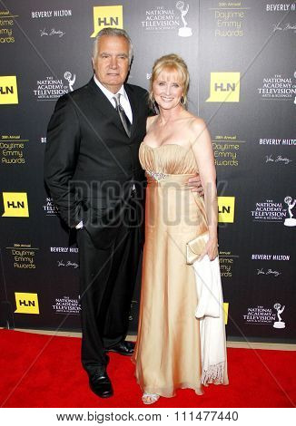 John McCook at the 39th Annual Daytime Emmy Awards held at the Beverly Hilton Hotel in Beverly Hills on June 23, 2012.