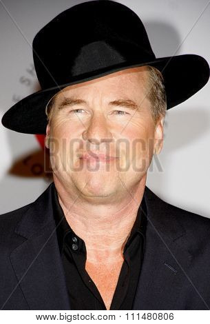 Val Kilmer at the 23rd Annual Simply Shakespeare held at the Broad Stage in Los Angeles on September 25, 2013 in Los Angeles, California.