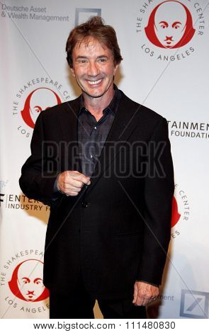 Martin Short at the 23rd Annual Simply Shakespeare held at the Broad Stage in Los Angeles on September 25, 2013 in Los Angeles, California.