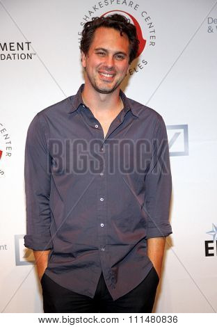 Thomas Sadoski at the 23rd Annual Simply Shakespeare held at the Broad Stage in Los Angeles on September 25, 2013 in Los Angeles, California.
