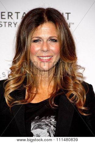 Rita Wilson at the 23rd Annual Simply Shakespeare held at the Broad Stage in Los Angeles on September 25, 2013 in Los Angeles, California.