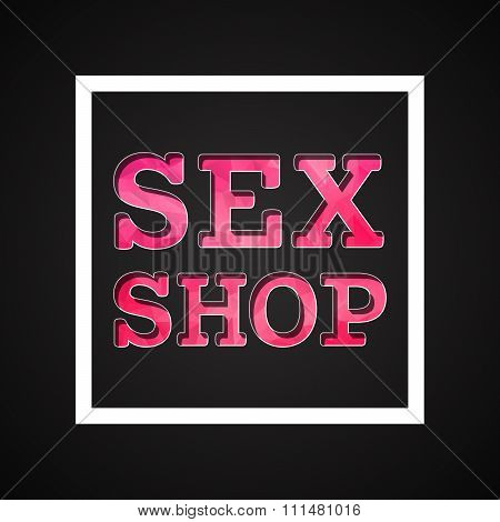 Sex Shop Icon  01