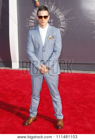 Beau 'Casper' Smart at the 2014 MTV Video Music Awards held at the Forum in Los Angeles on August 24, 2014 in Los Angeles, California.