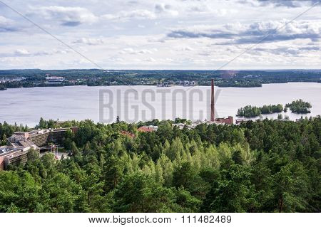 Tampere Panorama, Hame Region, Finland
