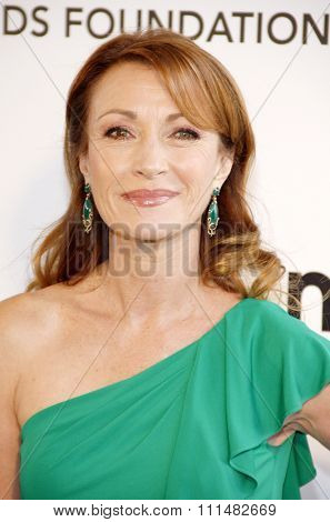 Jane Seymour at the 21st Annual Elton John AIDS Foundation Academy Awards Viewing Party held at the Pacific Design Center in West Hollywood on February 24, 2013.