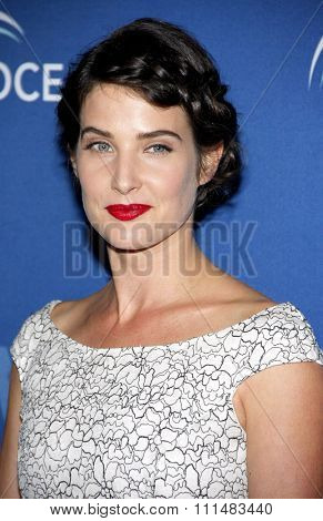Cobie Smulders at the 2013 Oceana�¢??s Partners Awards Gala held at theBeverly Wilshire Hotel in Beverly Hills on October 30, 2013 in Los Angeles, California.