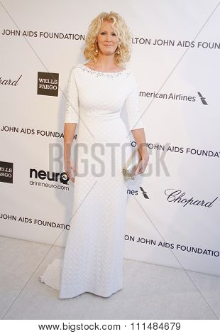 Sandra Lee at the 21st Annual Elton John AIDS Foundation Academy Awards Viewing Party held at the Pacific Design Center in West Hollywood on February 24, 2013.
