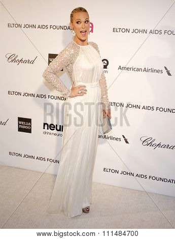Molly Sims at the 21st Annual Elton John AIDS Foundation Academy Awards Viewing Party held at the Pacific Design Center in West Hollywood on February 24, 2013.