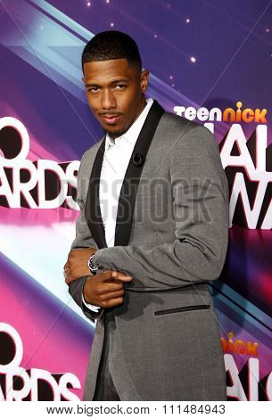 Nick Cannon at the  2012 Halo Awards held at the Hollywood Palladium in Hollywood on November 17, 2012.