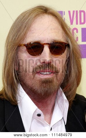Tom Petty at the 2012 MTV Video Music Awards held at the Staples Center in Los Angeles, United States on September 6, 2012.