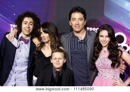 Ramy Youssef, Alanna Ubach, Scott Baio, Ryan Newman and Jackson Brundage at the  2012 Halo Awards held at the Hollywood Palladium in Hollywood on November 17, 2012.