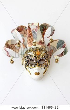 A souvenir mask from Venice.