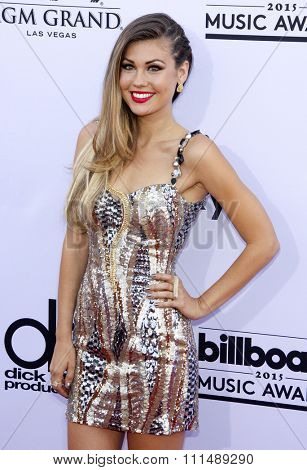Britt Nilsson at the 2015 Billboard Music Awards held at the MGM Garden Arena in Las Vegas, USA on May 17, 2015.