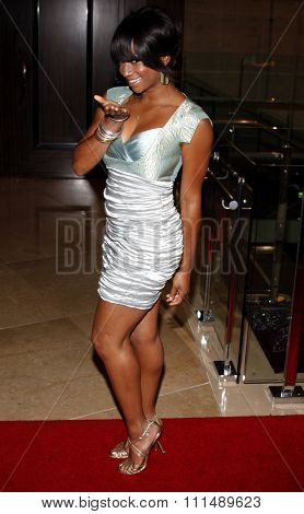 Monique Coleman at the 2009 Noche de Ninos Gala held at the Beverly Hilton Hotel in Beverly Hills on May 9, 2009.