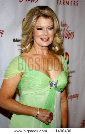 Mary Hart at the 2009 Noche de Ninos Gala held at the Beverly Hilton Hotel in Beverly Hills on May 9, 2009.