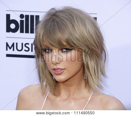 Taylor Swift at the 2015 Billboard Music Awards held at the MGM Garden Arena in Las Vegas, USA on May 17, 2015.