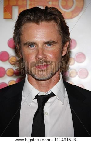 Sam Trammell at the 2011 HBO's Post Emmy Awards Reception held at the Pacific Design Center in West Hollywood on September 18, 2011.