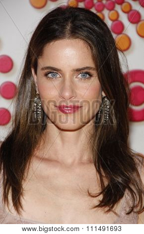 Amanda Peet at the 2011 HBO's Post Emmy Awards Reception held at the Pacific Design Center in West Hollywood on September 18, 2011.