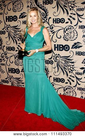Jessica Lange at the HBO's Post Emmy Awards Reception held at the Pacific Design Center in West Hollywood on September 20, 2009.
