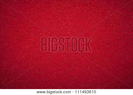 Background texture of solid red color.