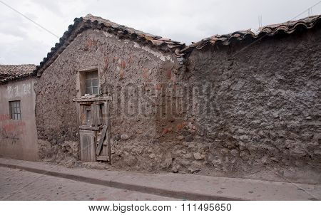 Old House In The Center Of Ayacucho