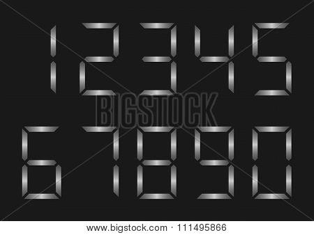 Silver Number set