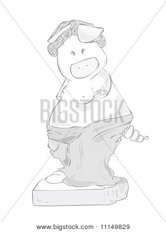 Venus de Milo Pig.