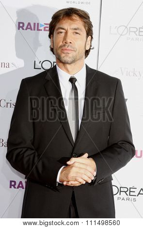 Javier Bardem at the Los Angeles premiere of 'Vicky Cristina Barcelona' held at the Mann Village Theatre in Westwood on August 4, 2008.