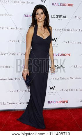 Penelope Cruz at the Los Angeles premiere of 'Vicky Cristina Barcelona' held at the Mann Village Theatre in Westwood, California, USA on August 4, 2008.
