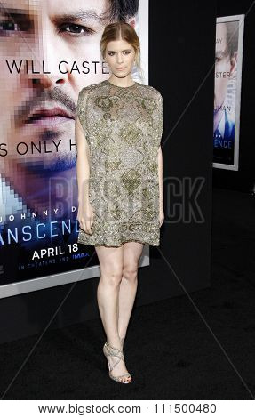Kate Mara at the Los Angeles premiere of
