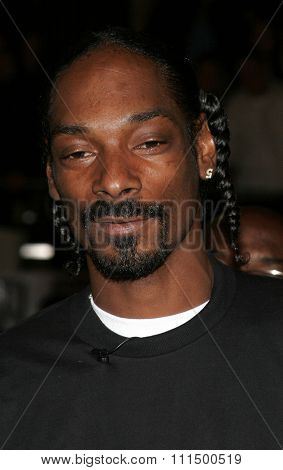 November 2, 2005. Snoop Dogg at the Paramount Pictures'