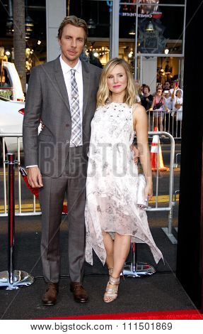 Dax Shepard and Kristen Bell at the Los Angeles premiere of 'This Is Where I Leave You' held at the TCL Chinese Theatre in Los Angeles on September 15, 2014 in Los Angeles, California.