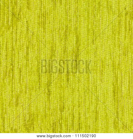 Green Seamless Texture Of Fabric
