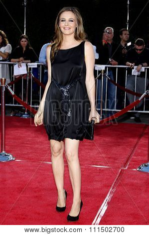Alicia Silverstone at the Los Angeles premiere of 'Tropic Thunder' held at the Mann Village Theater in Westwood on August 11, 2008.