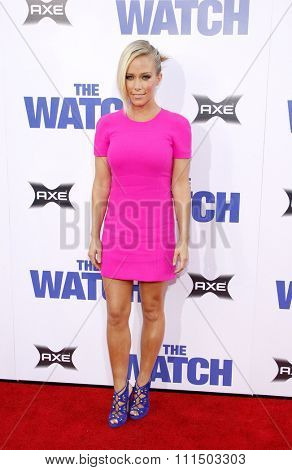 Kendra Wilkinson at the Los Angeles premiere of 'The Watch' held at the Grauman's Chinese Theatre in Hollywood on July 23, 2012.