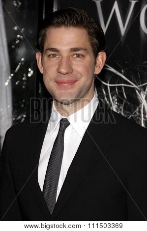 John Krasinski at the Los Angeles premiere of 'The Wolfman' held at the ArcLight Cinemas in Hollywood on February 28, 2010.