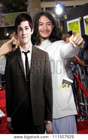 Ezra Miller at the Los Angeles premiere of 'The Perks Of Being A Wallflower' held at the ArcLight Cinemas in Hollywood on September 10, 2012.