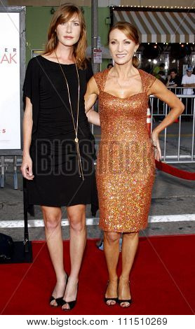 Jane Seymour and daughter Katie Flynn attend the Los Angeles Premiere of