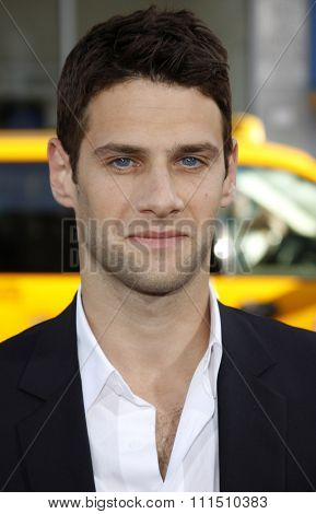 Justin Bartha at the Los Angeles premiere of 'The Hangover' held at the Grauman's Chinese Theatre in Hollywood on June 2, 2009.