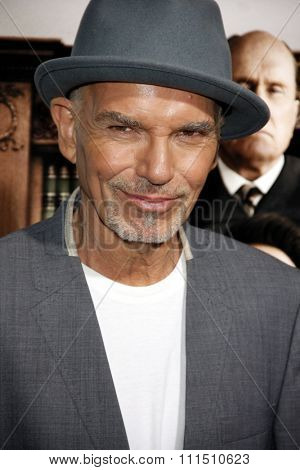 Billy Bob Thornton at the Los Angeles premiere of 'The Judge' held at the AMPAS Samuel Goldwyn Theater in Los Angeles on October 1, 2014.