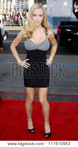Kendra Wilkinson at the Los Angeles premiere of 'The Hangover' held at the Grauman's Chinese Theatre in Hollywood on June 2, 2009.