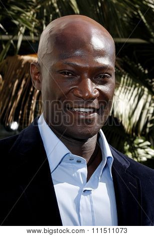 Peter Mensah at the Los Angeles premiere of 'The Incredible Hulk' held at the Universal Studios Hollywood in Universal City on April 8, 2008.